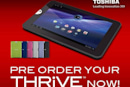 Toshiba Thrive pre-order now live, starts at $430 and ends up in your hands in mid-July