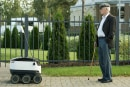 Skype co-founders build delivery bot that rides on sidewalks