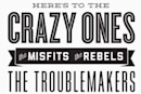 """Crazy Ones"" poster being sold for charity"