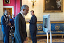 President Obama welcomes telepresence robots into the White House