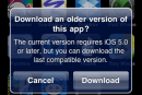 Apple now offering older iOS device owners 'last compatible version' of apps