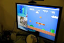 Kinect used to control Super Mario on a PC, redefine convergence (video)
