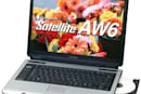 Toshiba's Satellite AW6 and CW2: Core 2 Duo and Celeron, together at last