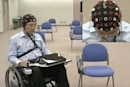 Toyota's mind-controlled wheelchair boast fastest brainwave analysis yet, most stylish EEG cap