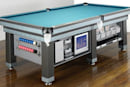 Heiron & Smith's Executive pool table sports LCD, PS2
