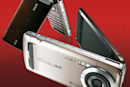 Casio's 8.1 megapixel W63CA with 480 x 800 pixel OLED flips out in Japan
