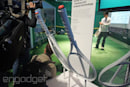 Playing tennis the Sony way... with a racket sensor that analyzes your game (video)