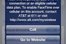 AT&T confesses: its network couldn't handle unchecked FaceTime over cellular