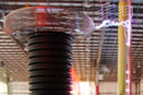 Tesla coils seen wowing onlookers, cooking hot dogs
