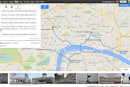 Google Maps preview now handles multi-point routes, upcoming events
