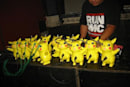 12 circuit bent Pikachu make beautiful music
