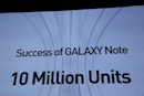 Samsung: 10 million Galaxy Notes have been sold, worldwide