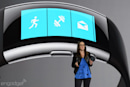 The new Microsoft Band has a curved screen, fancy metal accents