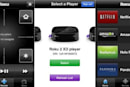 Roku's official iPhone remote app is available, has gesture control and channel selection for all
