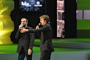 Paul McCartney and Ringo Starr are at the Microsoft press conference