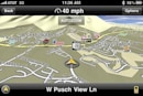 Driving around with Navigon Panorama View 3D for iPhone