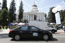 Uber and Postmates sue California over gig worker law