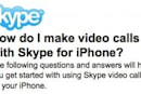 Skype finally bringing video calling to iPhone 4, maybe other mobile platforms?