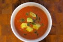 Watson's spicy, ginger-laced gazpacho