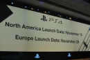 PlayStation 4 hitting shelves on November 15th in the US for $399, November 29th in Europe and Latin America