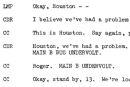 Spacelog provides fascinating searchable text transcripts for NASA missions