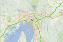 Google Maps delivers live traffic updates to Hong Kongers, Kiwis and Norwegians