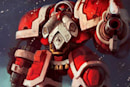 Blizzard calls for Christmas craft