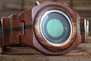 Another wooden Tokyoflash timepiece emerges, the Maru (video)