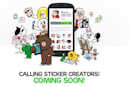 LINE messenger isn't selling to anyone, instead it's going to let you sell your own stickers