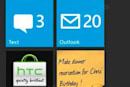 Is this HTC Sense on Windows Phone 7? (update: and is this HTC's Hub?)