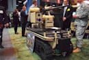 Northrop Grumman's CaMEL 'bot features one .50 caliber gun, loads of class