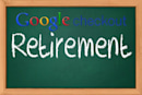 Google Checkout for web merchants to be retired on November 20th