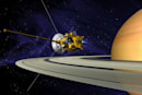 Cassini space probe exits safe mode just in time for its flyby of Enceladus