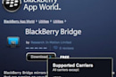 BlackBerry Bridge not available for PlayBook users on AT&T, unofficial workaround available