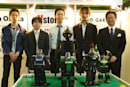 Team Osaka shows off RoboCup entrants