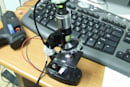 Build a digital microscope from a webcam