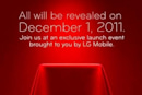 LG holding 'exclusive launch event' on December 1st, Nitro HD the likely suspect