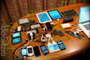 Steve Wozniak reveals contents of his backpack, has a lot of stuff