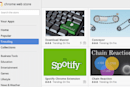 Google updates Chrome Web Store with offline badges, subcategories and trending apps