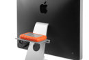 BackPack shelf for your iMac proves there are always more places to store clutter