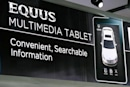 2011 Hyundai Equus to come with 'multimedia tablet,' learning tutorials from Video Professor