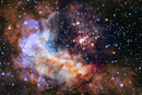 Hubble celebrates its 25th anniversary with space fireworks