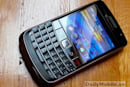 BlackBerry Onyx poses for the camera