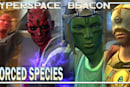 Hyperspace Beacon: Forced species