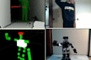DIY telepresence robot uses PrimeSense Kinect drivers for extremely awkward push-ups (video)