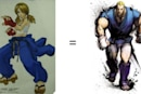 Street Fighter IV's Abel before he bulked up