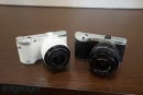 Samsung unveils 3D-capable NX300 mirrorless camera and 45mm f/1.8 2D/3D lens ahead of CES, we go eyes on (update)
