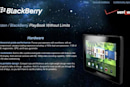 Verizon Wireless: we might sell the BlackBerry PlayBook, if we feel like it