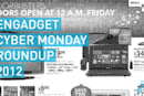 Engadget's Cyber Monday 2012 roundup