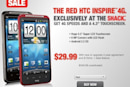 Red HTC Inspire 4G now available exclusively at Radio Shack